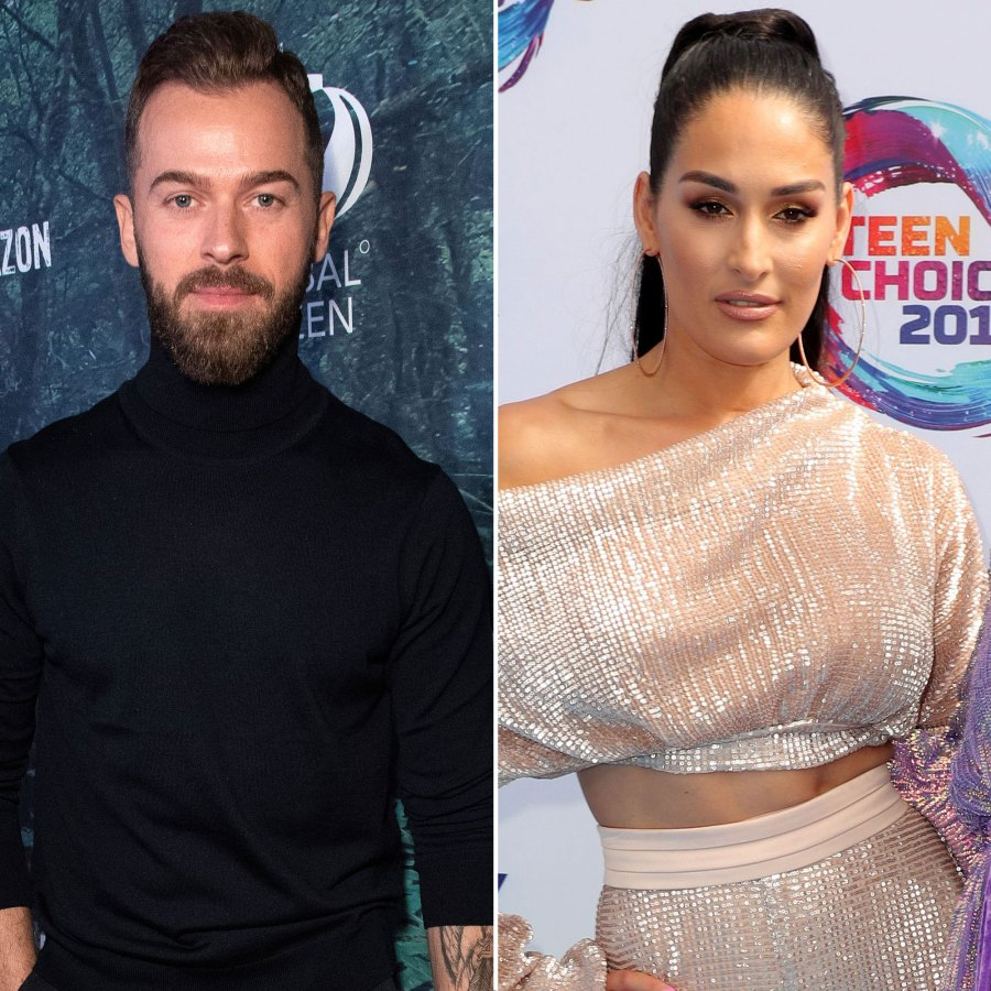 Artem Chigvintsev Gets Jealous When Nikki Bella Asks Another Man to Salsa Dance