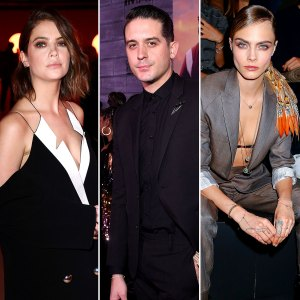Ashley Benson G-Eazy Are Not Serious After Her Cara Delevingne Split