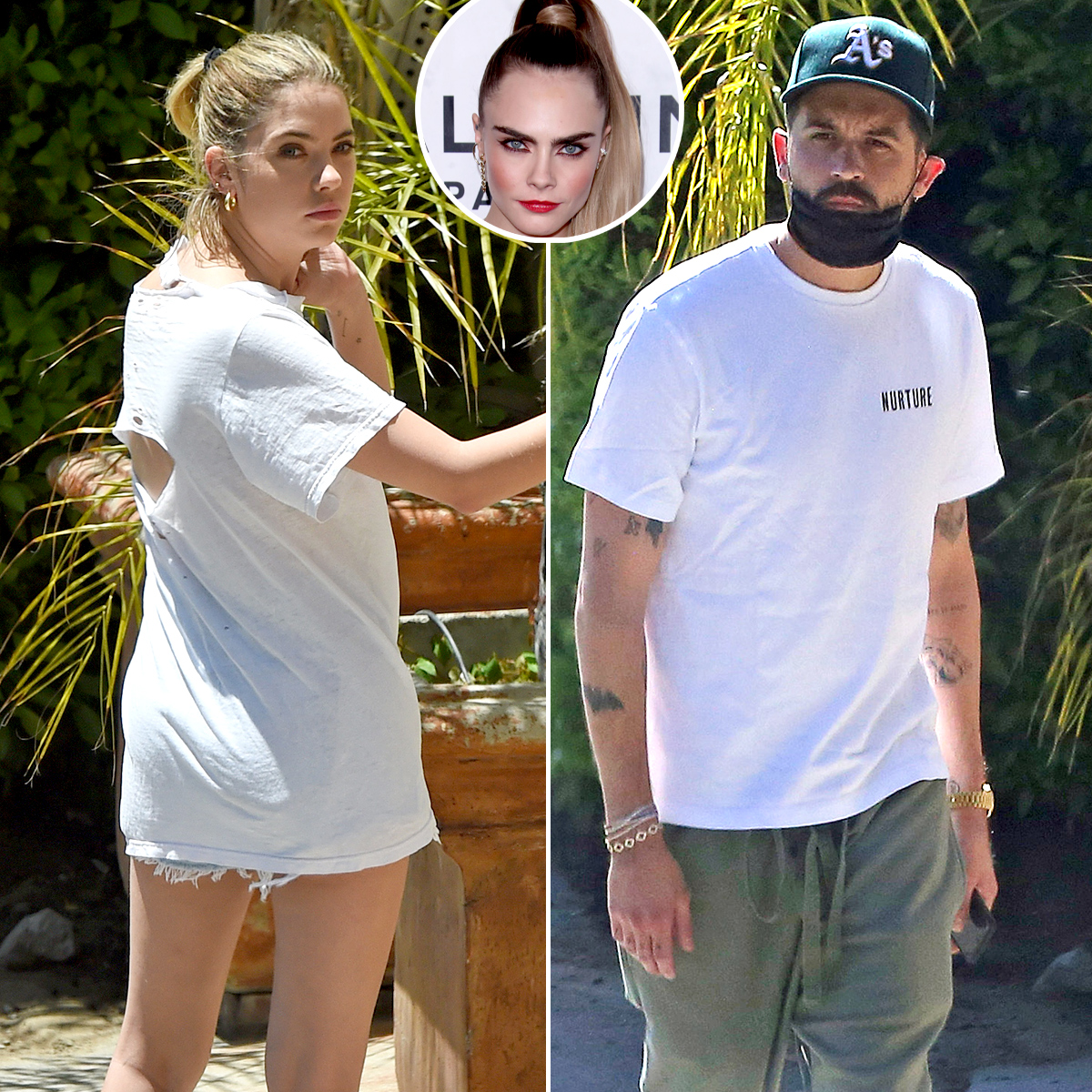 Ashley Dance Porn ashley benson spotted at g-eazy's house after cara
