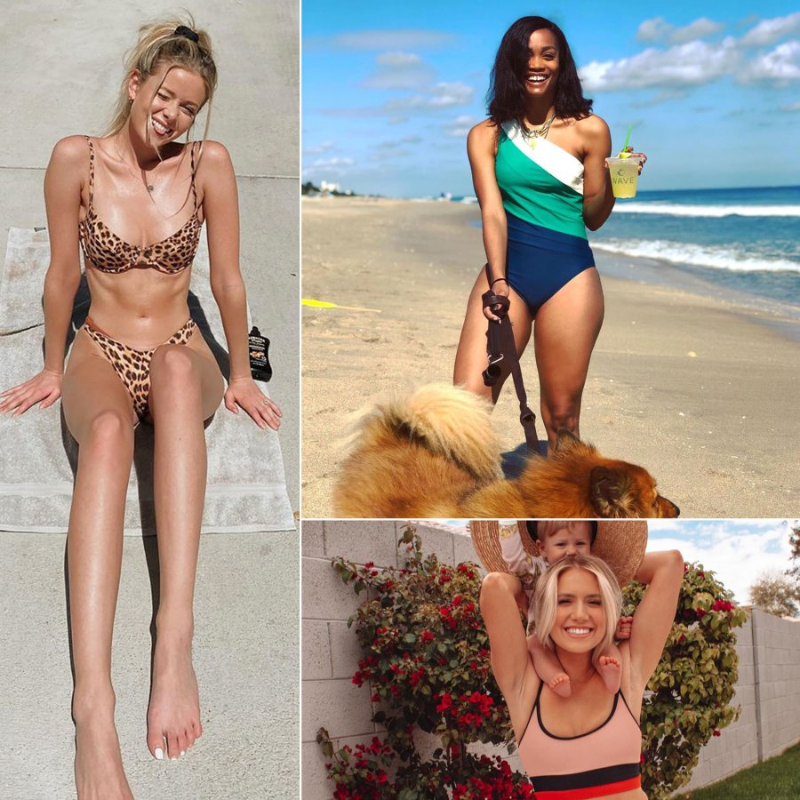 Bachelor Nation Stars Slay in Sexy Bikinis and Chic One-Piece Swimwear