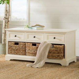Beachrest Home Ardina Drawer Storage Bench