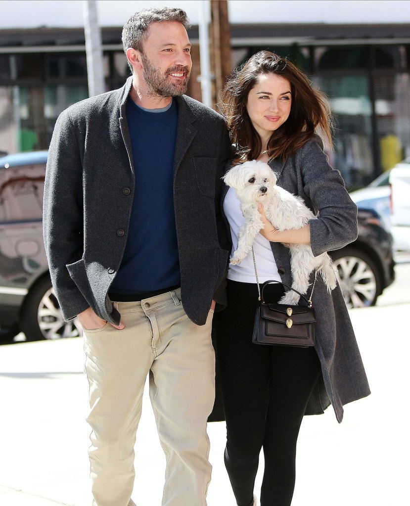 Ben Affleck Kisses Girlfriend Ana de Armas in the Desert