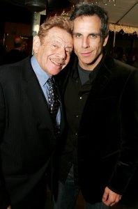 Ben Stiller Recalls Final Days With Dad Jerry Stiller