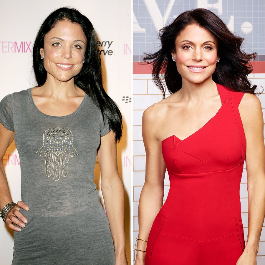 Bethenny Frankel Then and Now