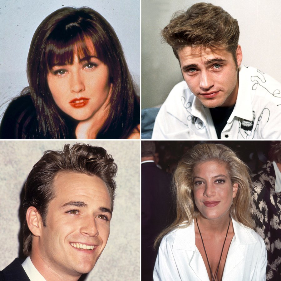 Beverly Hills 90210 Cast Then and Now