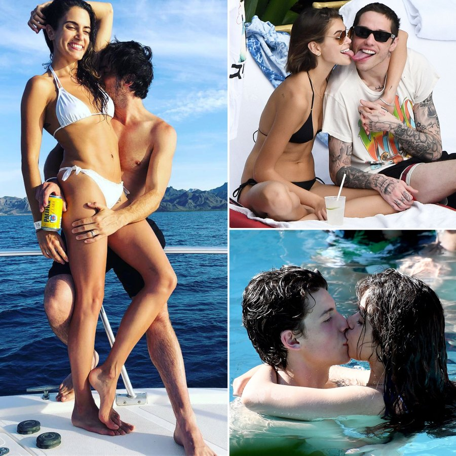 Celebrities Hottest PDA Moments at the Beach