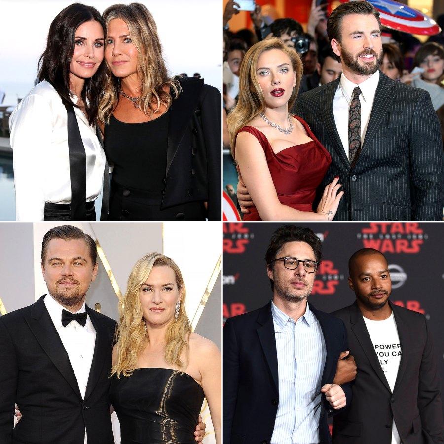 Celebrities Who Found Best Friends in Their Costars
