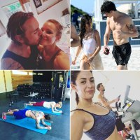 Celebrity Couples Working Out