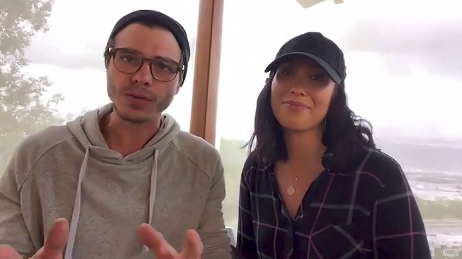 Cheryl Burke and Matthew Lawerence Celebs Send Thanks to Essential Workers.jpg