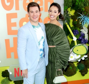 Chloe Bridges Has At-Home Graduation Ceremony With Fiance Adam Devine
