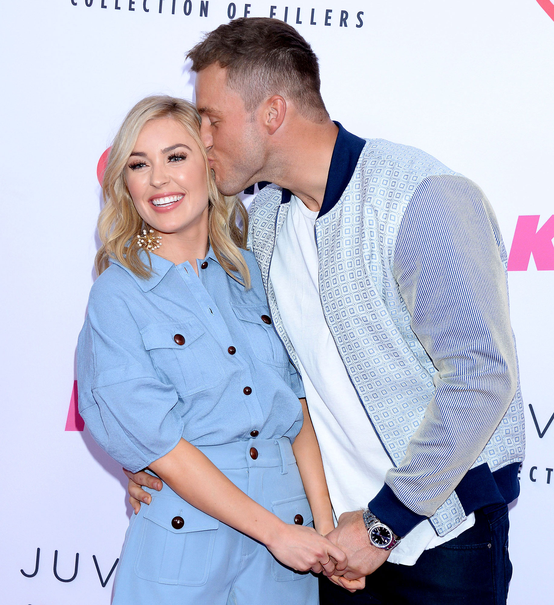 Colton Underwood and Cassie Randolph Are Still Together Despite Split Rumors Kiss