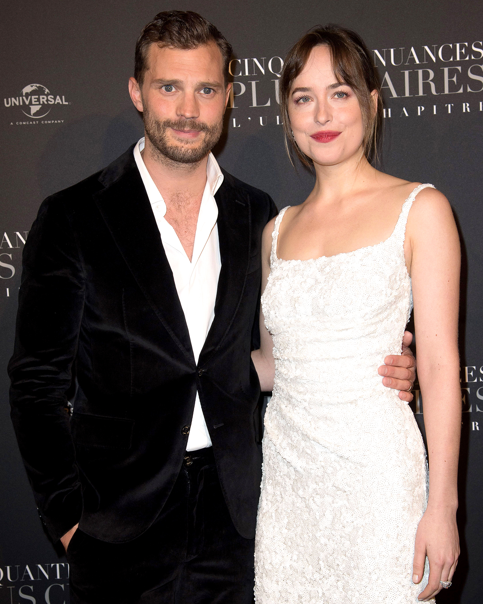 Dakota Johnson Chooses Between Jamie Dornan and Christian Grey After Feud Rumors