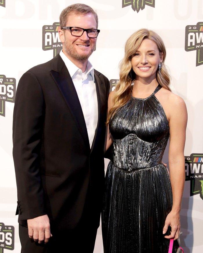 Dale Earnhardt Jr da la bienvenida a su segundo hijo con su esposa Amy