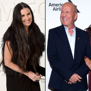 Demi Moore Bruce Willis Dance in Matching Outfits During Quarantine