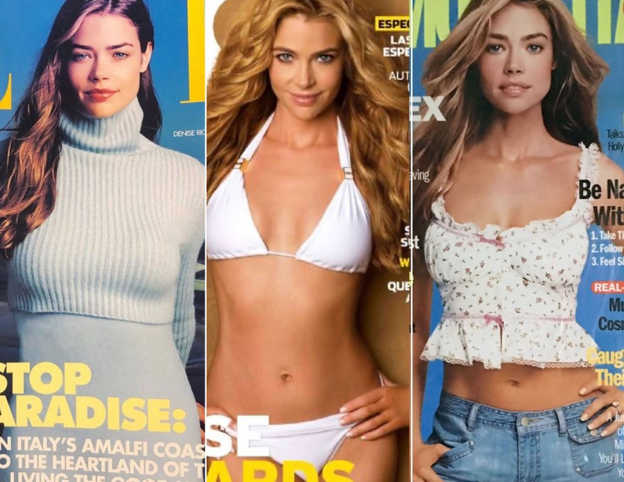 Denise Richards Looks So Different on 7 Past Magazine Covers