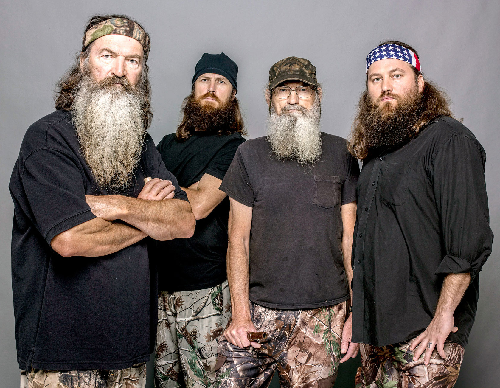 Duck Dynasty Alum Phil Robertson Sons React to Him Having a 45-Year-Old Daughter