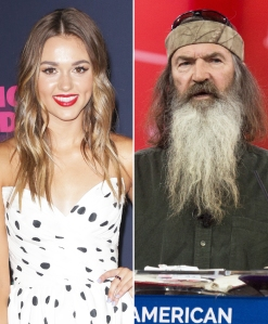 Duck Dynasty's Sadie Robertson Reacts to Grandpa Phil Finding Out He Has an Adult Daughter