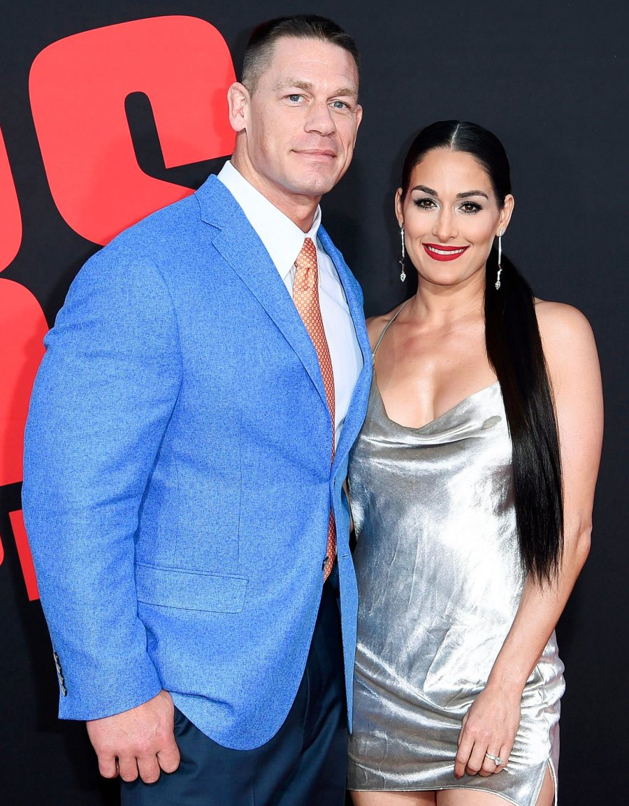 John Cena and Nikki Bella attend the LA Premiere of Blockers Everything Nikki Bella Said About John Cena in Her New Book