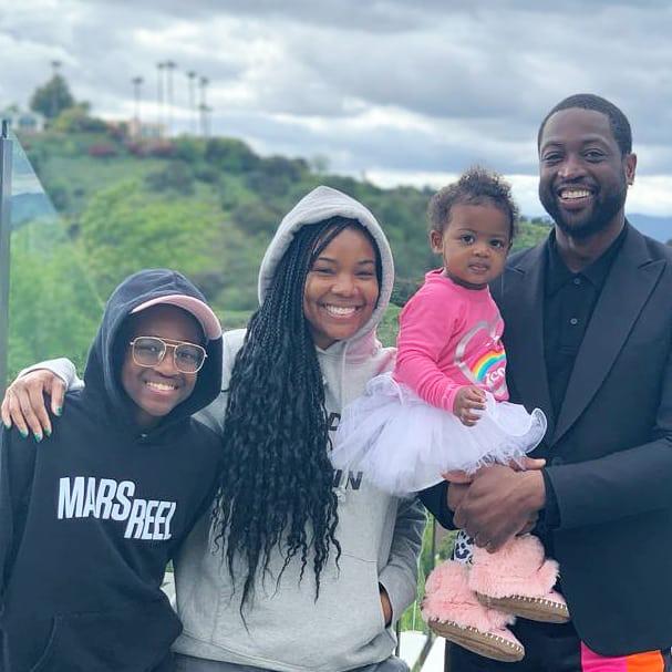 Gabrielle Union Dwyane Wade Daughter Zaya Does Not Trust Us as Homeschool Teachers
