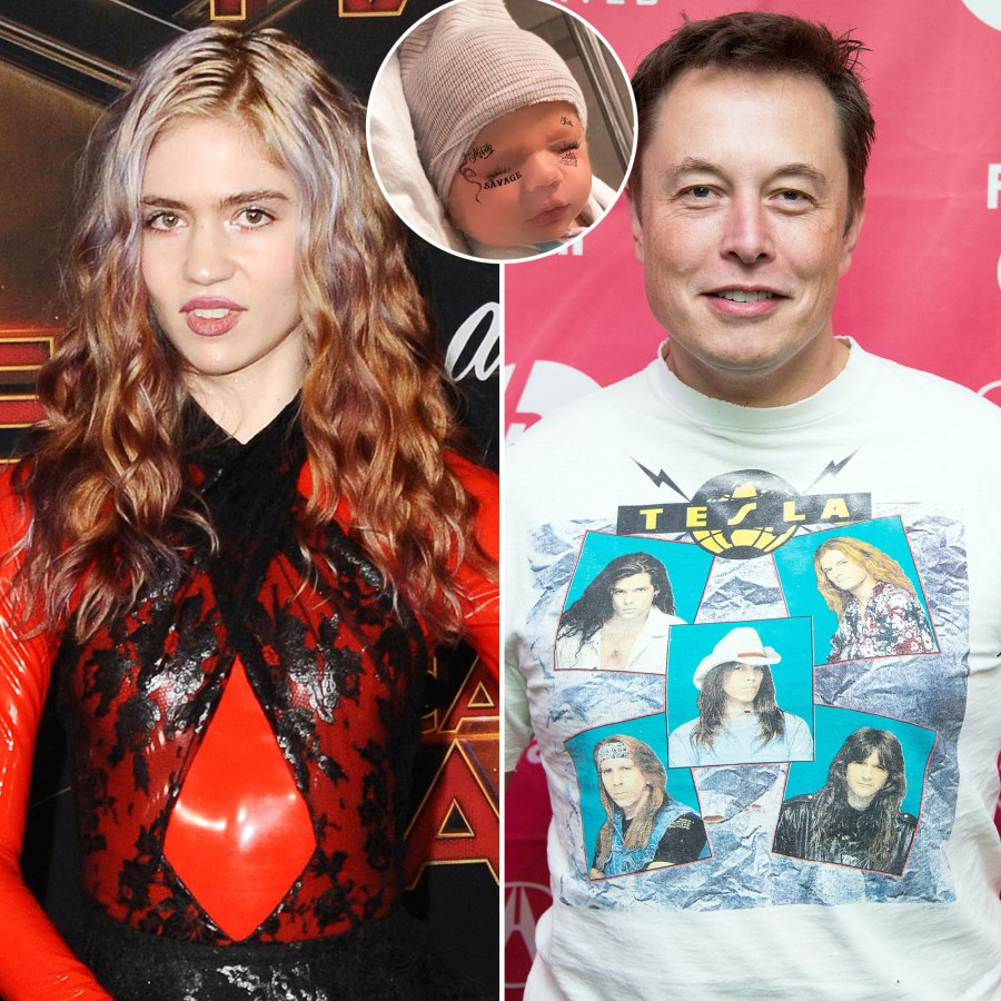 Grimes and Elon Musk Sweetest Pics With Their Baby Boy X Æ A-12