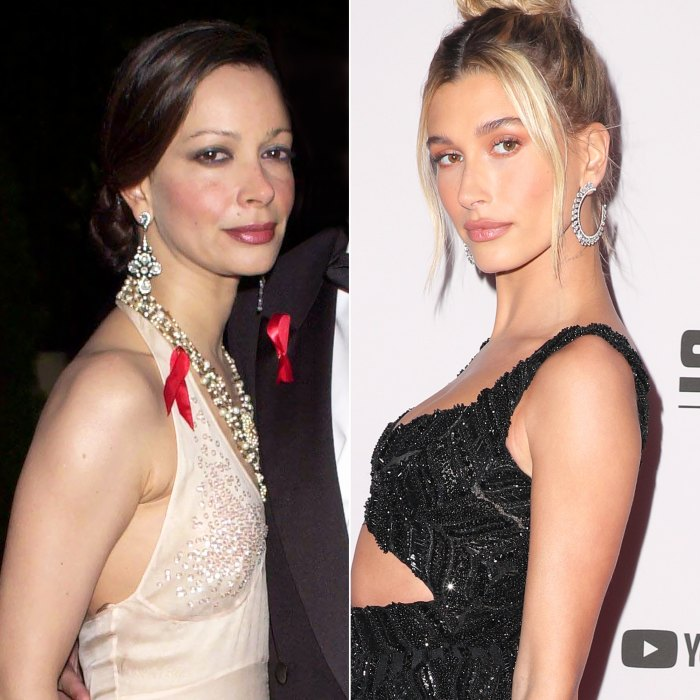 Hailey Baldwin Claps Back at Plastic Surgery Claims, Sharing a Pic of Her Mom