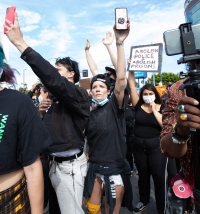 Halsey Steps Out With Ex Youngblud at L.A. Protest Amid Rumored Evan Peters Split
