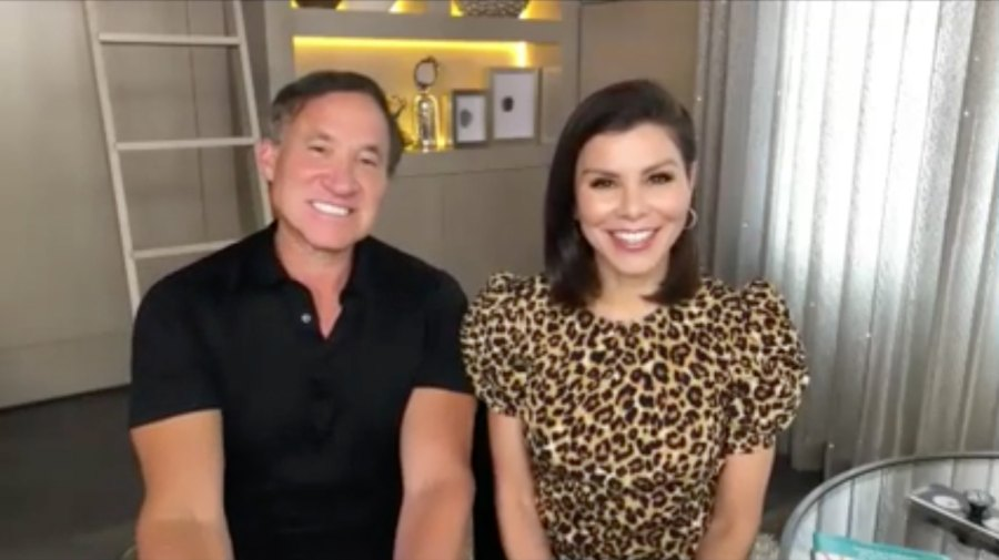 Heather and Terry Dubrow homeschool