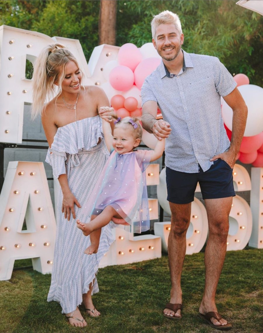 Inside Arie Luyendyk Jr.'s and Lauren Burnham's Daughter Alessi's 1st Birthday Party Amid Quarantine