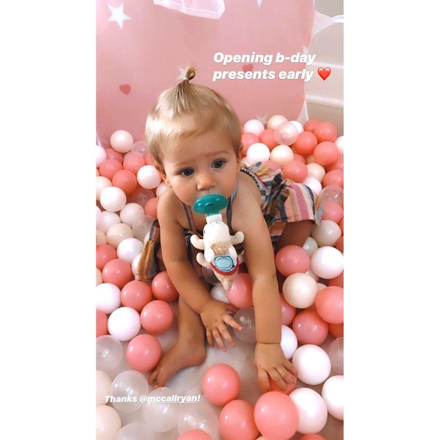 Inside Arie Luyendyk Jr.'s and Lauren Burnham's Daughter Alessi's 1st Birthday Party Amid Quarantine