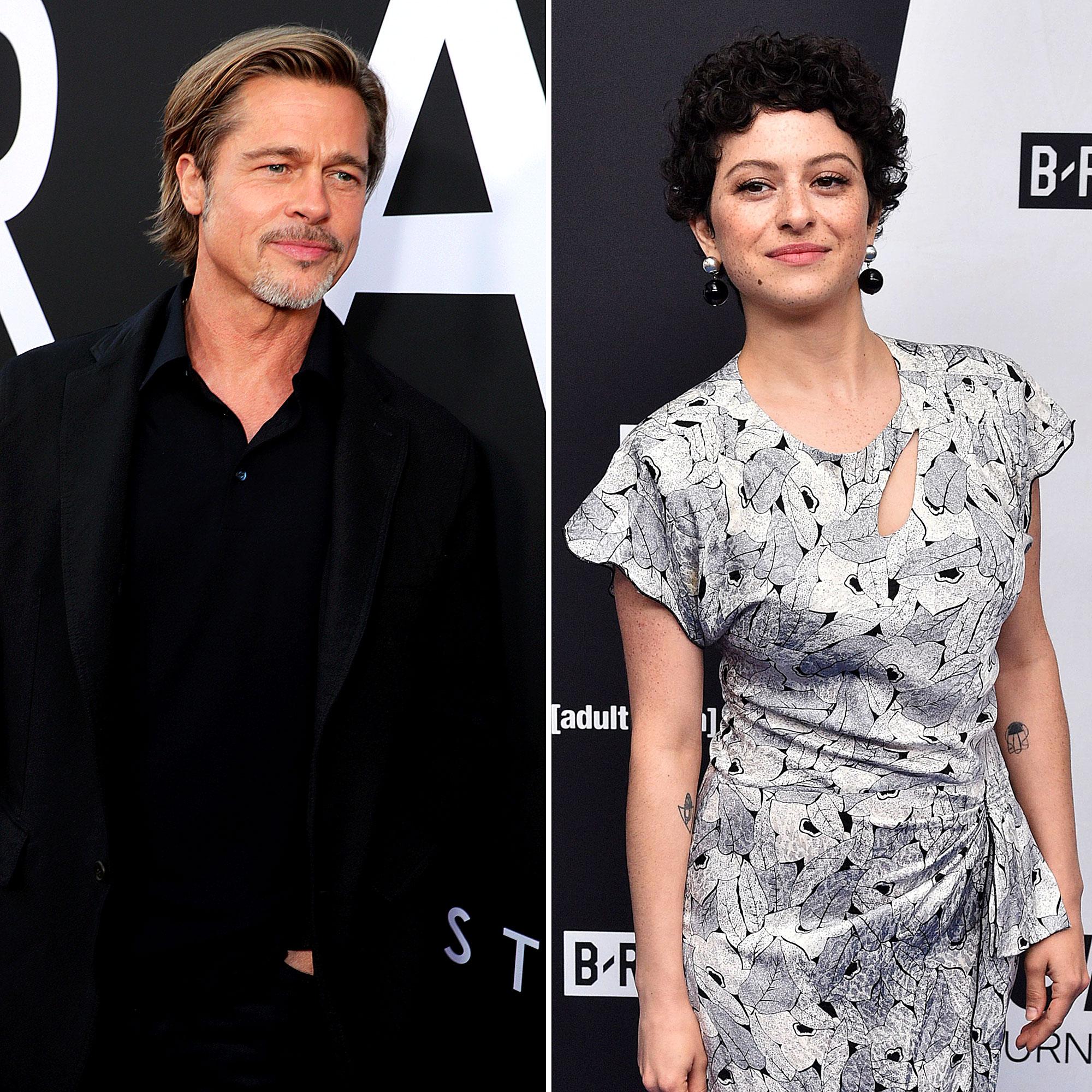 Inside Brad Pitt and Alia Shawkat's 'Organic and Easy' Friendship