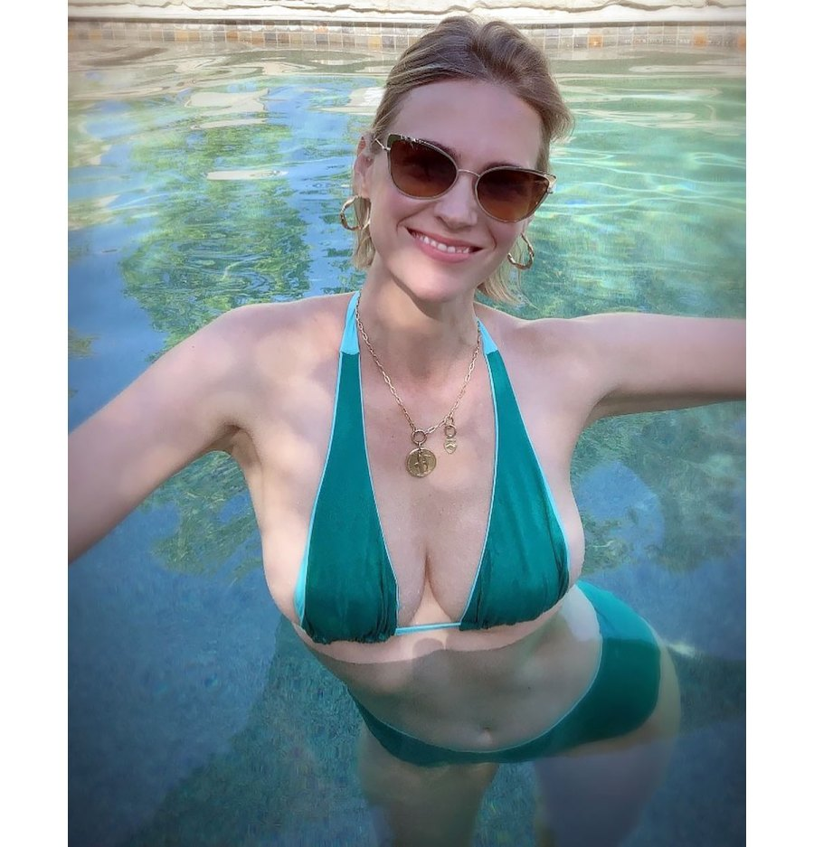 January Jones Bikini Instagram