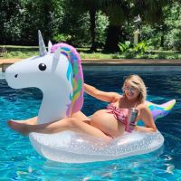Jenna Cooper 39 weeks pool