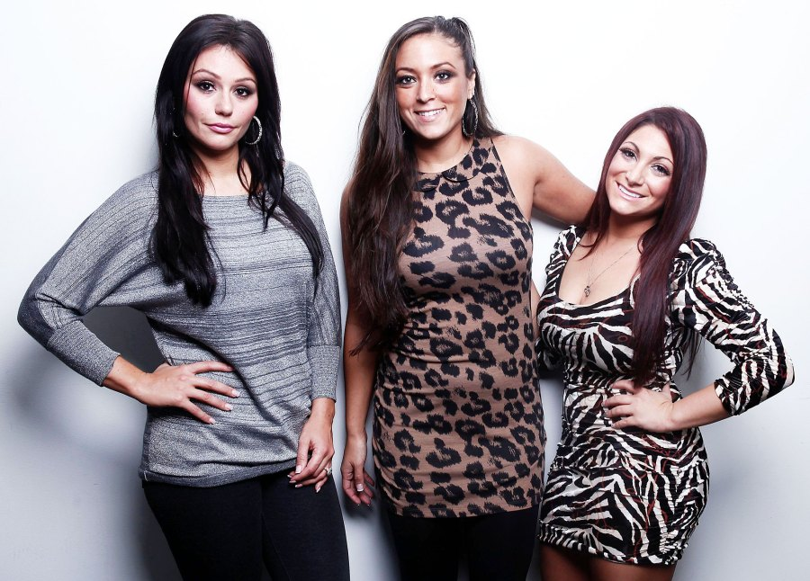 Jenni JWoww Farley and Deena Cortese Compliment Sammi Giancola Wedding Shoot