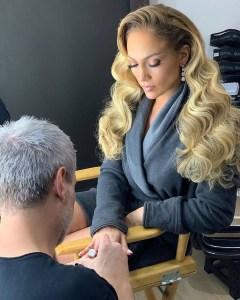 Manicure Jennifer Lopez Tom Bachik