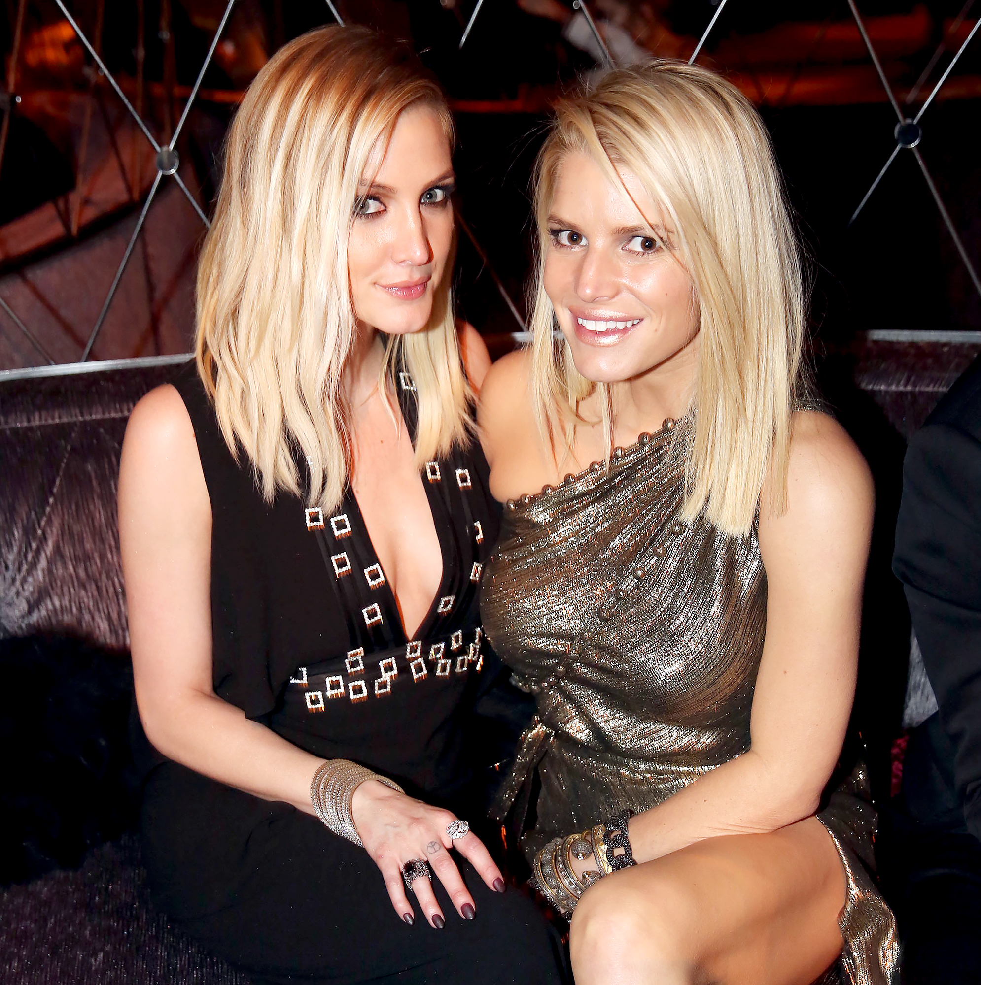Jessica Simpson Couldnt Be Happier for Sister Ashlee Simpson Pregnancy