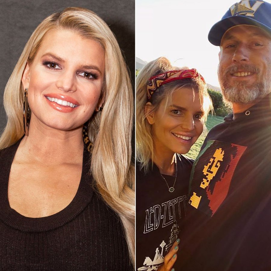Makeup-Free Jessica Simpson Shares Sweet Anniversary Note