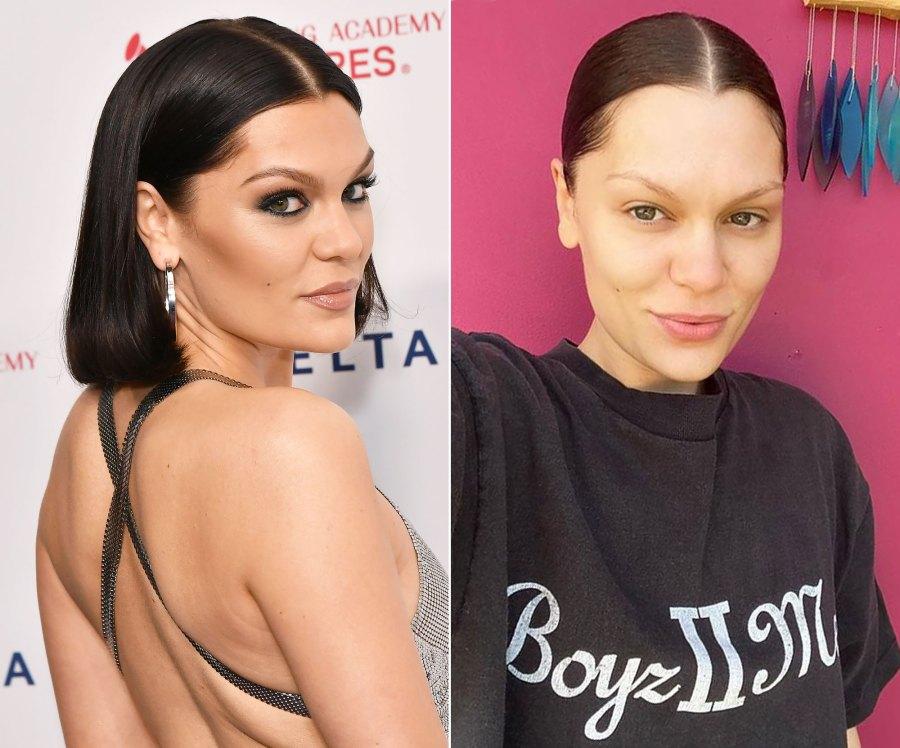 Jessie J's Makeup-Free Selfie Will Make You Do a Double-Take