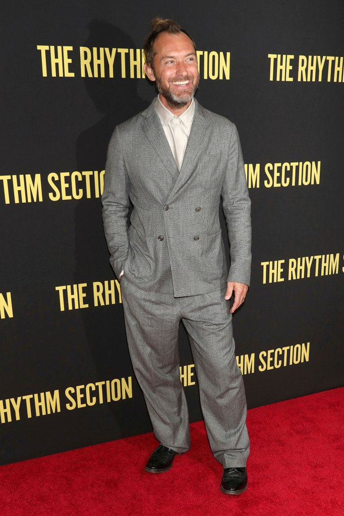Jude Law Is Expecting Baby 6 With Pregnant Wife Philippa Coan