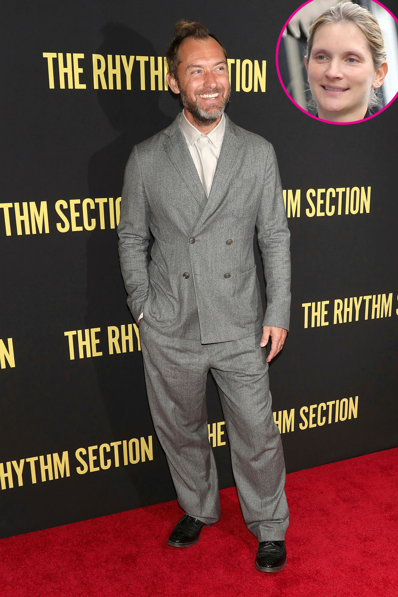 Jude Law Pregnant Wife Expecting 1st Baby Together His 6th