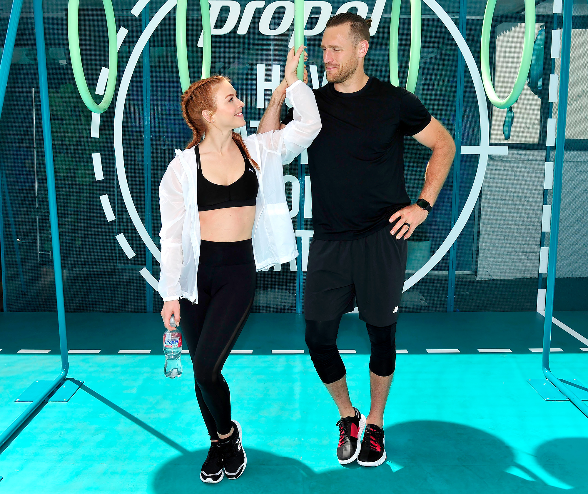 Julianne Hough- Brooks Laich Gets Emotional Watching Me Workout