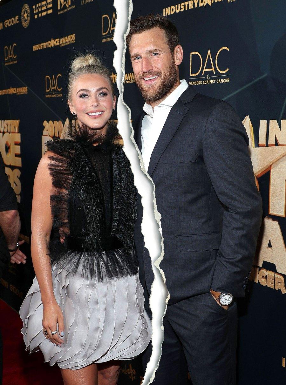 Julianne Hough and Brooks Laich Split