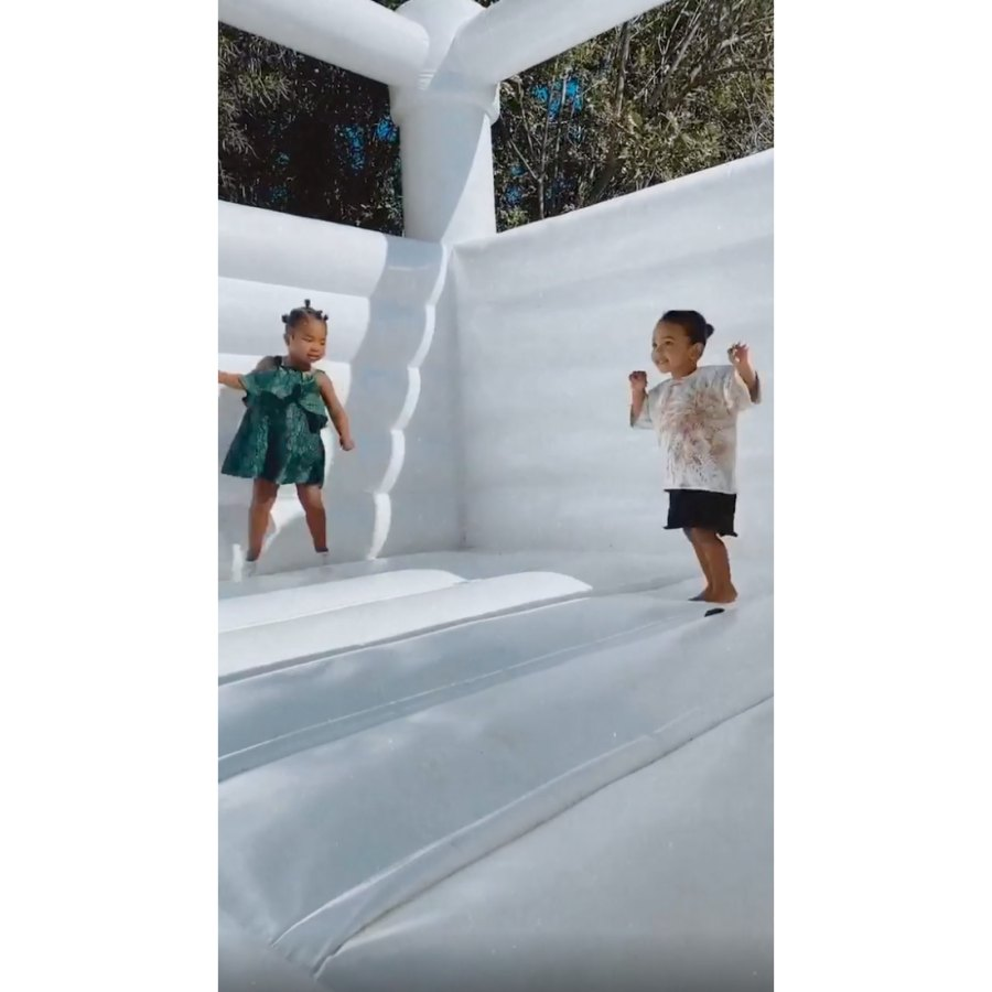 Kardashian Kids Backyard Playdate Amid Quarantine