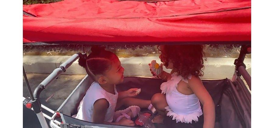 Kardashian Kids Chicago West Stormi Webster