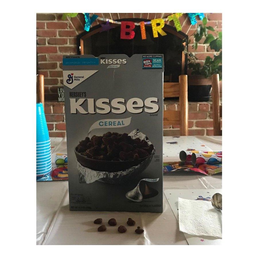 Kate Gosselin Instagram Kisses Cereal Gosselin Family Album Quarantine Birthdays