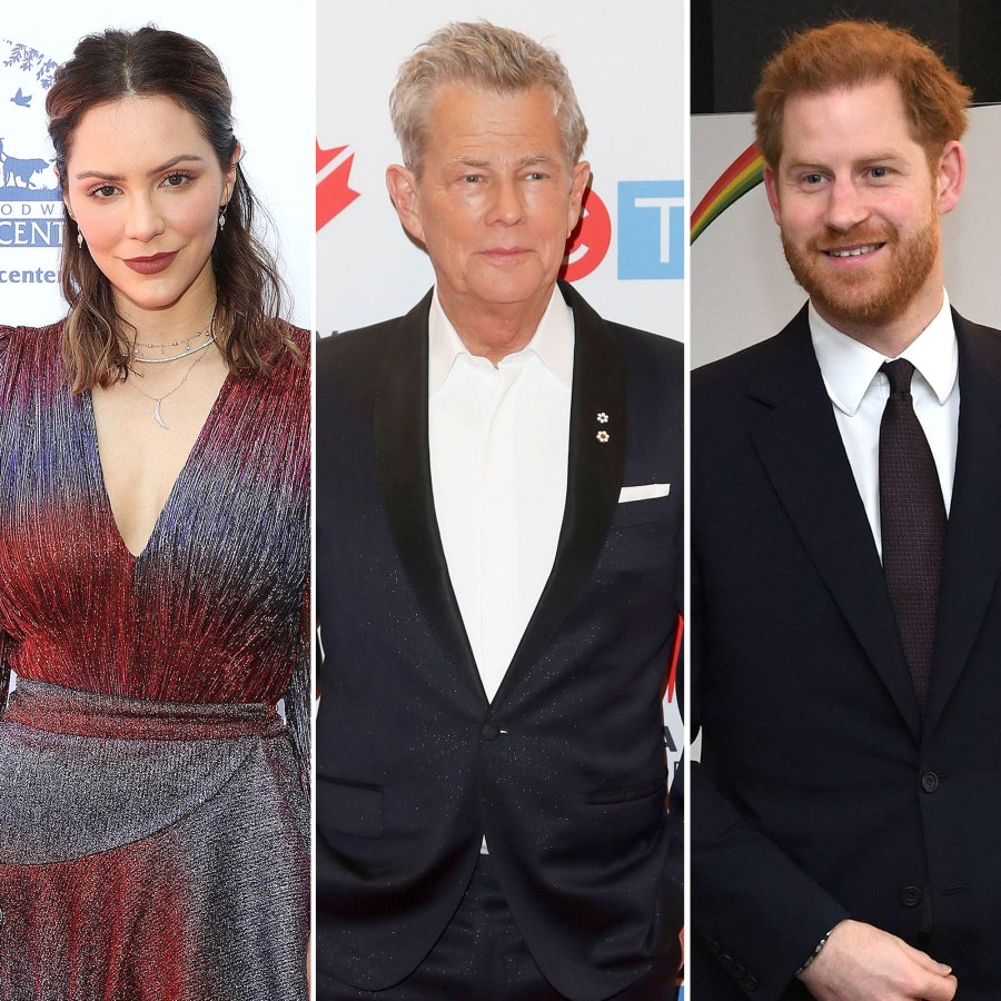 Katharine McPhee Says Husband David Foster and Prince Harry Are Like Father and Son