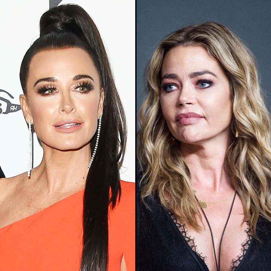 Kyle Richards Accuses Denise Richards of Staging Scenes on The Real Housewives of Beverly Hills