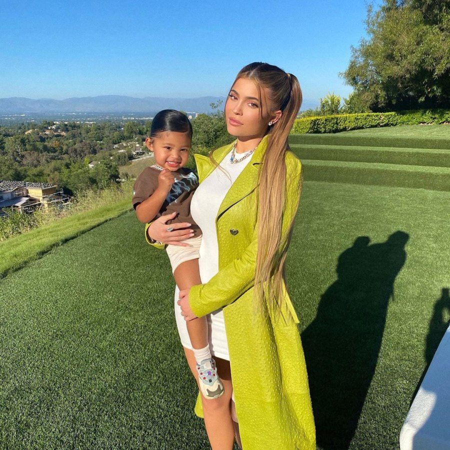 Kylie Jenner Fears for Daughter Stormi Instagram