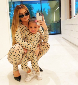 Kylie Jenner Shares Look-Alike Photos of Herself and 2-Year-Old Daughter Stormi