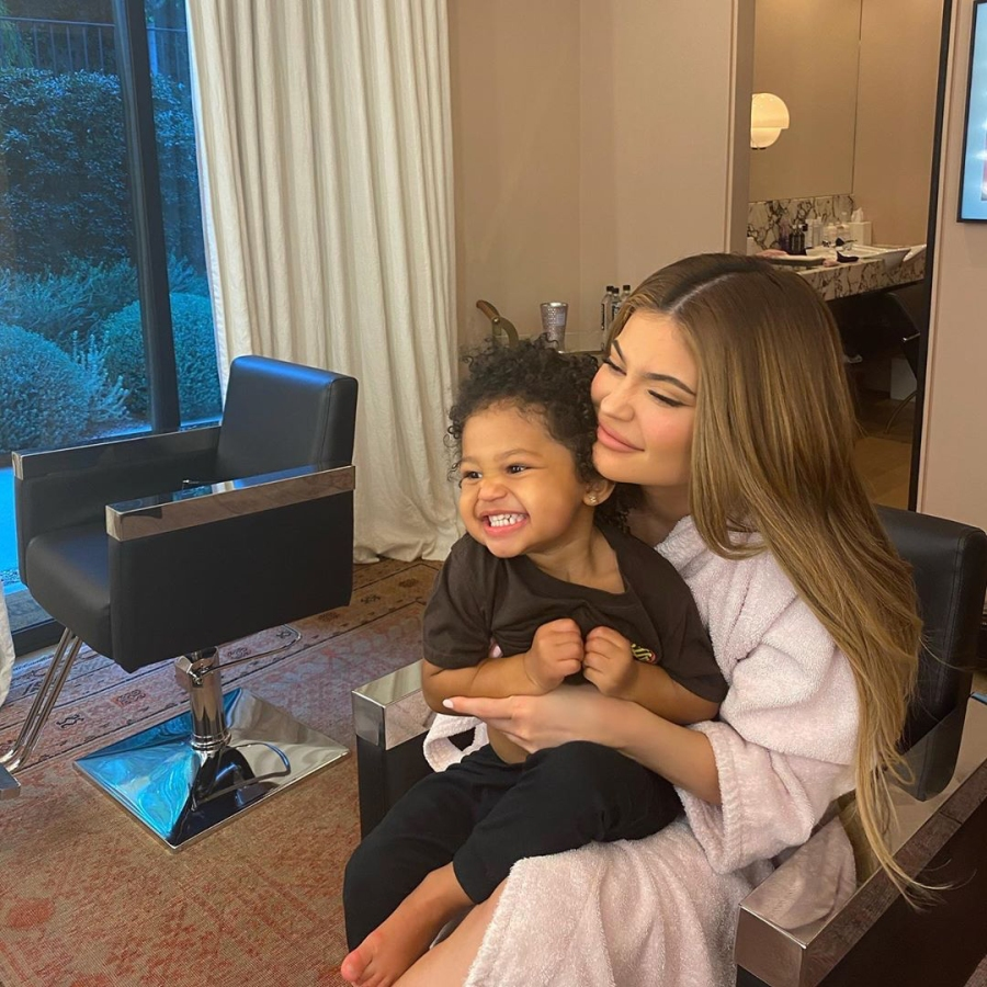 Kylie Jenner Tests Daughter Stormi Patience With Adorable Candy Challenge
