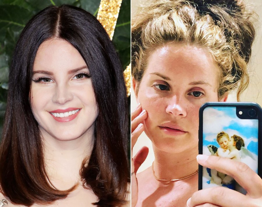 Lana Del Rey Looks Totally Different Without Her Signature Liner
